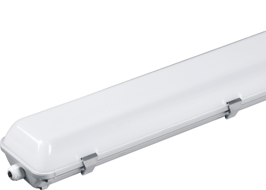 Indoor 48w 4ft LED Batten Fitting AC180 - 265V High Efficiency For Supermarket